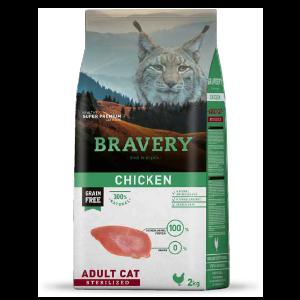crocchette per gatto sterilizzato al pollo